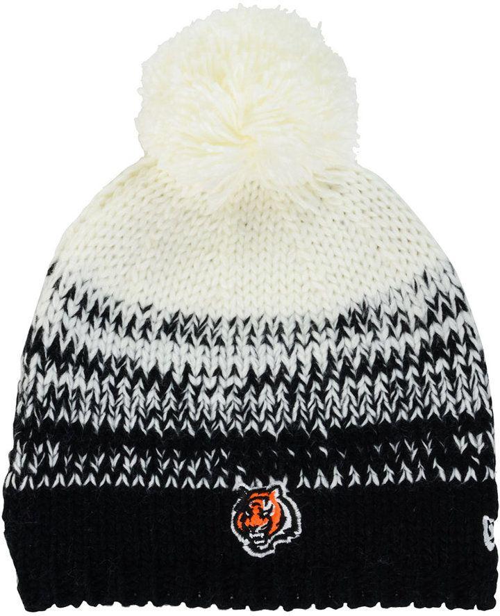 New Era Women's Cincinnati Bengals Polar Dust Knit Hat