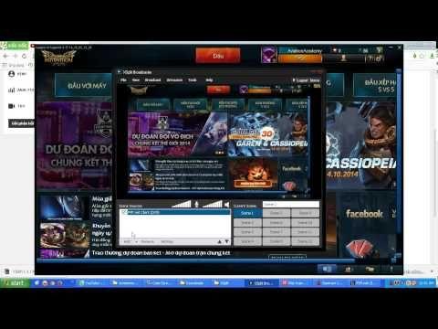 Phát trực tiếp màn hình desktop lên Youtube - YouTube