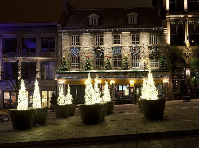 Place Jacques-Cartier, Temps des fêtes Montréal - Photo Eva Blue