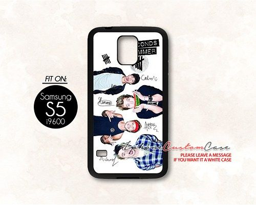 5 seconds of summer for Samsung S5 Black case