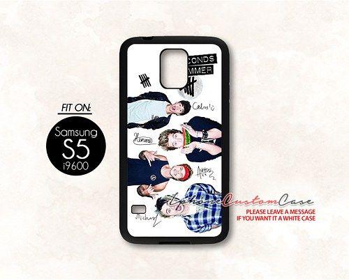 5 seconds of summer for Samsung S5 Black case