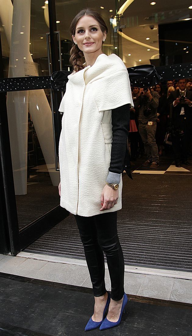 Olivia Palermo the opening of Harvey Nichols new store Beauty Bazaar London