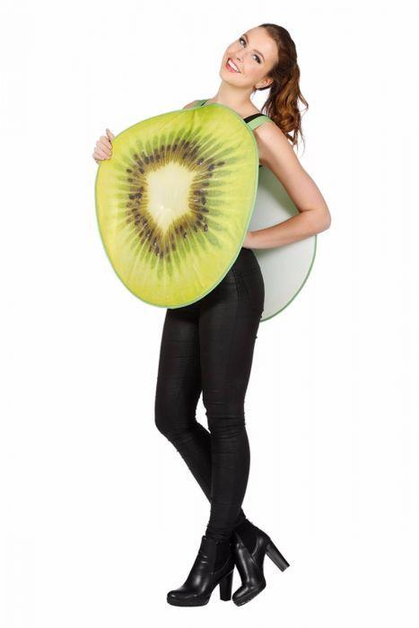 Grappige Carnavalskleding Dames.Kiwi Is Een Grappig Fruit Kostuum Geschikt Voor Bijna Iedereen En