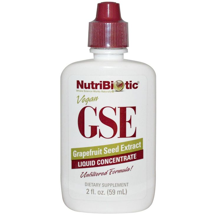 NutriBiotic, GSE Liquid Concentrate, Grapefruit Seed Extract, 2 fl oz (59 ml) - iHerb.com