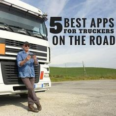 The 5 Best Apps for Truckers on the Road  #useful #trucker #apps #list #guide #tips #info #advice #truckdriver #trucking #truck #trucks #functional #entertaining  #smartphone #phone #app #usedtruck #salvagetrucks #auction