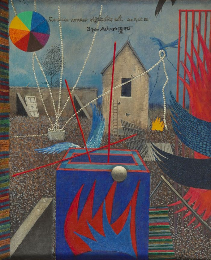 Zbigniew Makowski - Somnium nazzaze..., 1975