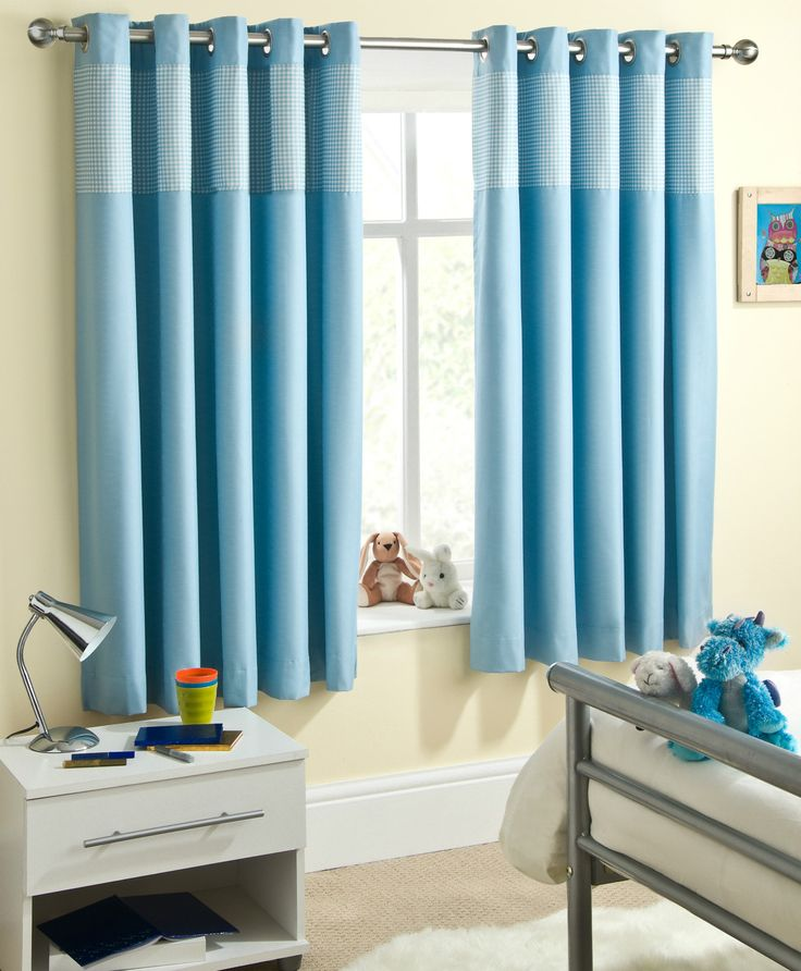 Baby boy nursery curtains nursery ideas pinterest for Drapes over crib