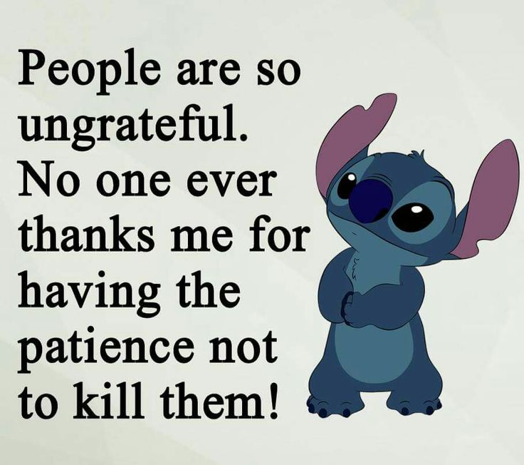 Stitch should make his own book of quotes!!!