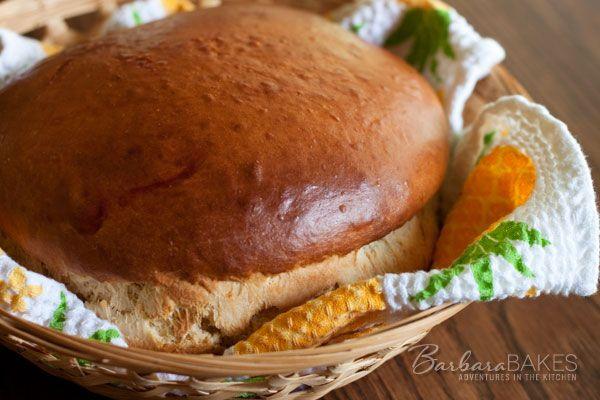 Hawaiian Sweet Bread from Barbara Bakes