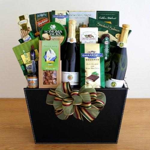Wine Country Favorites Gourmet Gift Basket.