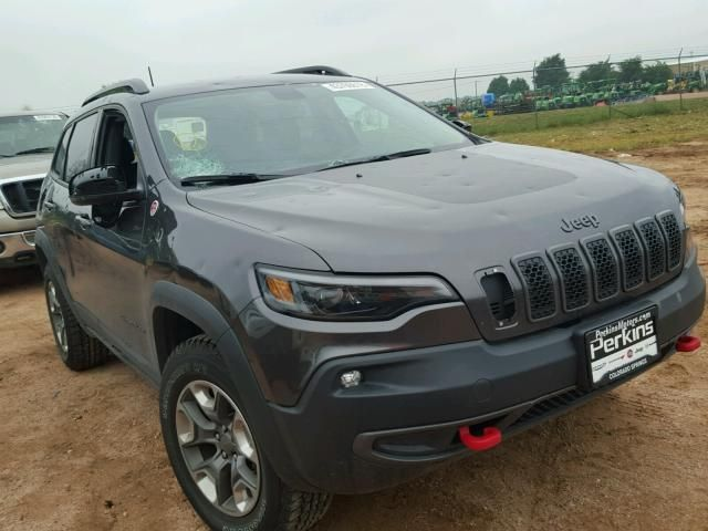 Salvage 2019 Jeep Cherokee Trailhawk 4x4 Ford Ranger Jeep