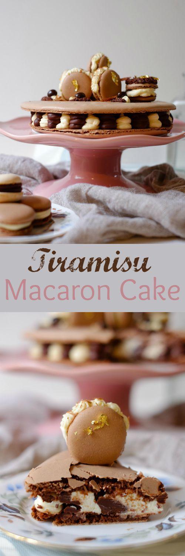 Tiramisu Macaron Cake | Patisserie Makes Perfect