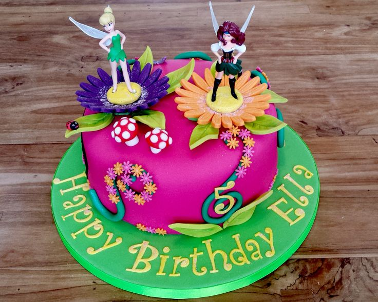 tinkerbell and the pirate fairy cake - Google Search