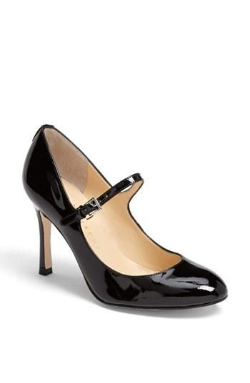 Color(s): black, dark brown patent, sandy patent. Style Name: Ivanka Trump ' Janna' Mary Jane Pump.