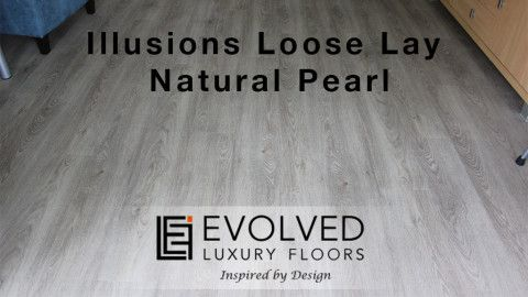 Illusions Loose Lay – colour Natural Pearl Gallery - Evolved Luxury Floors