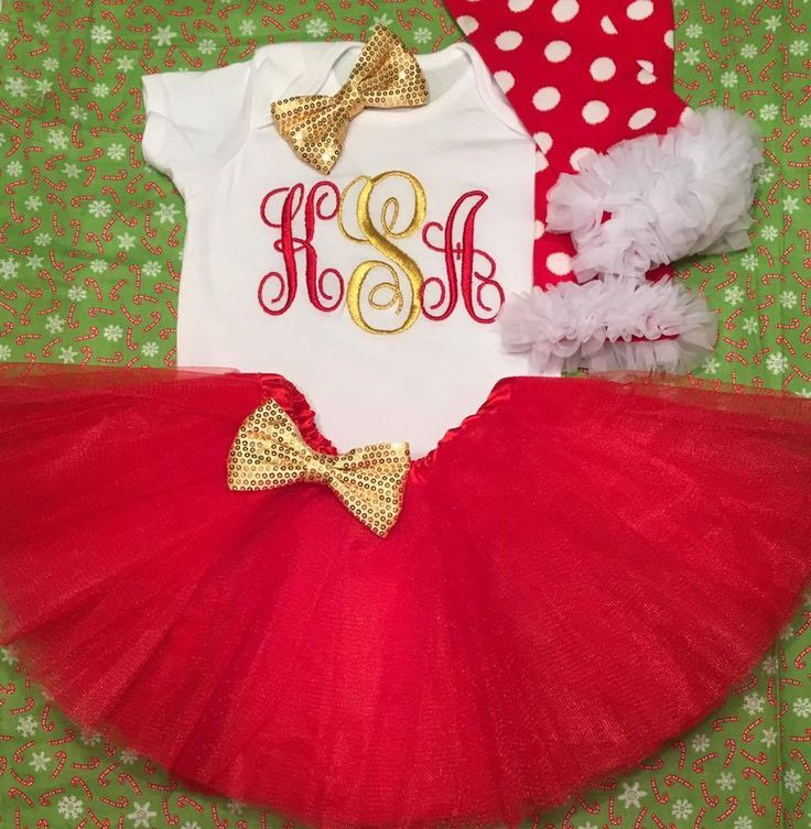Girl Toddler Christmas Outfit, Girl Christmas Outfits Size 2t 3t 4t 24months #Holiday