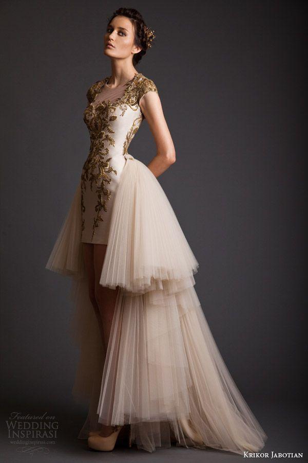 Krikor Jabotian Spring 2014 Dresses | | iondecorating