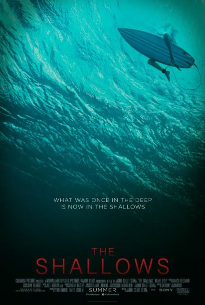 John's Horror Corner: The Shallows (2016), Blake Lively's bikini meets Jaws (1975) and Castaway (2000) in this fun shark attack thriller. | Movies, Films & Flix