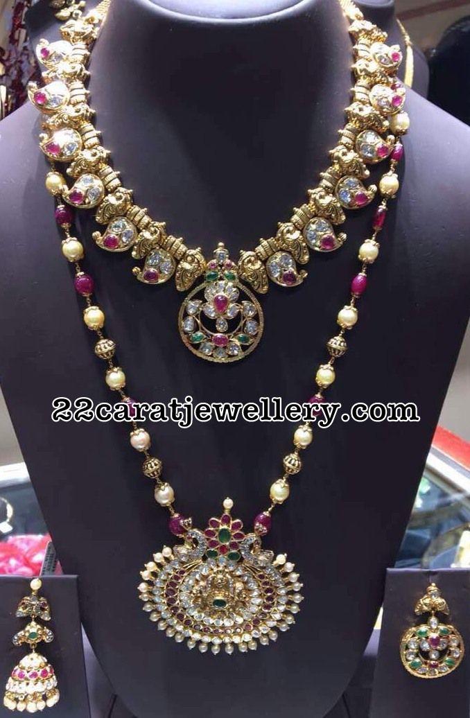 Mango Necklace Beads Long Set
