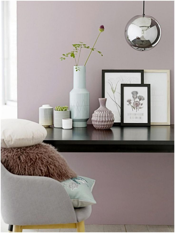 7 best Roze Muren images on Pinterest Wall paint colors, Bedroom - schlafzimmer schön gestalten