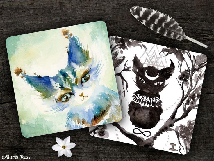 spirit cats — Nicole Piar