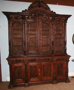 antique china hutch for sale | Unique Antique English Hutch China Cabinet for Sale in Bloomingdale ...