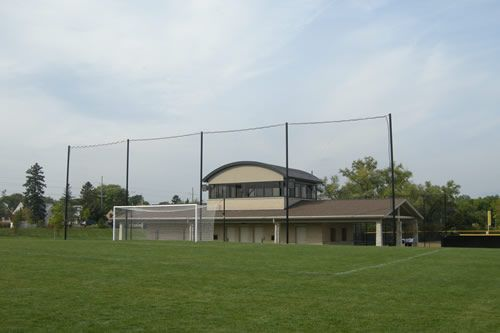 how to build a field hockey goal cage