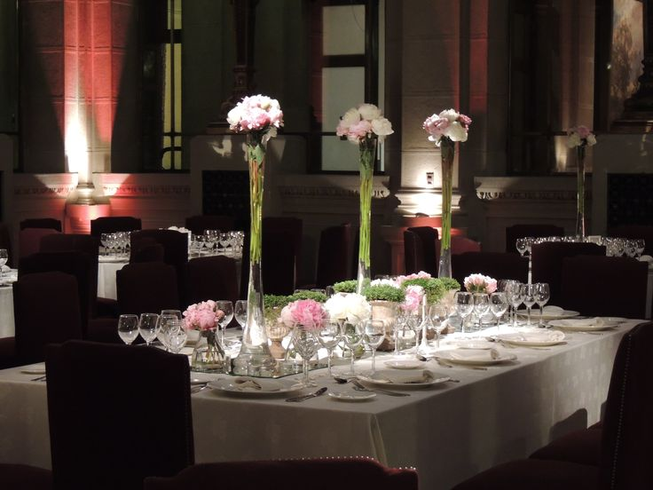 flores mesa de novios