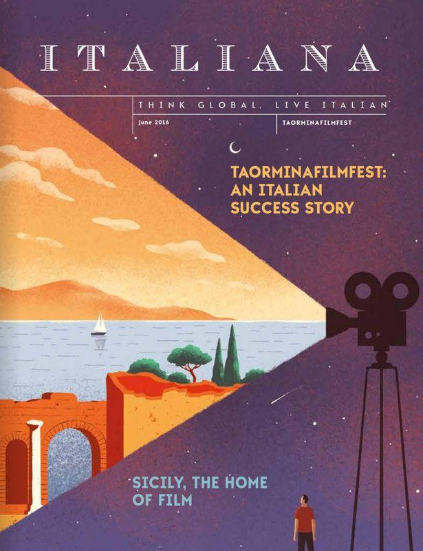 DAVIDE BONAZZI ILLUSTRATION: TAORMINA FILM FESTIVAL