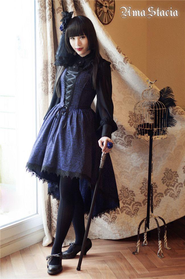 #LolitaUpdate: [-✙-The Gaze Into The Abyss Lolita JSK-✙-]