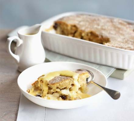 Eve's pudding - Here's a little reminder of a delicious British pudding you probably haven't eaten in years