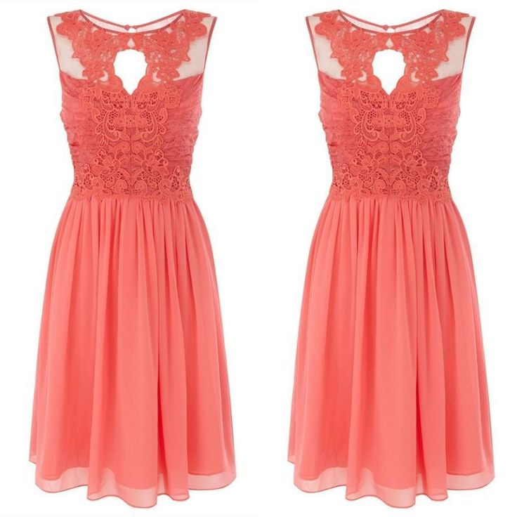 Find More Bridesmaid Dresses Information about Discount Coral Bridesmaid Dresses 2016 Chiffon Lace Short Wedding Party Dress for Girls Bruidsmeisjes Jurk SA101,High Quality dress shirt neck fit,China dress bandage Suppliers, Cheap dress stone from XCOS Wedding Dresses Co.,Ltd on Aliexpress.com