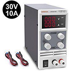 Eventek KPS310D Alimentatore da Laboratorio DC Regolabile Stabilizzato, Alimentatore da Banco 0 - 30V / 0 - 10A