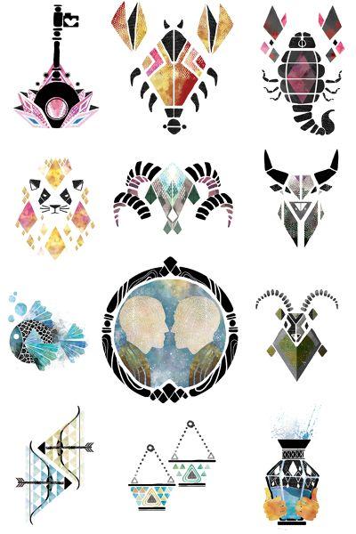 Zodiac Signs / Fräulein Magazin - Daniel Ramirez Perez