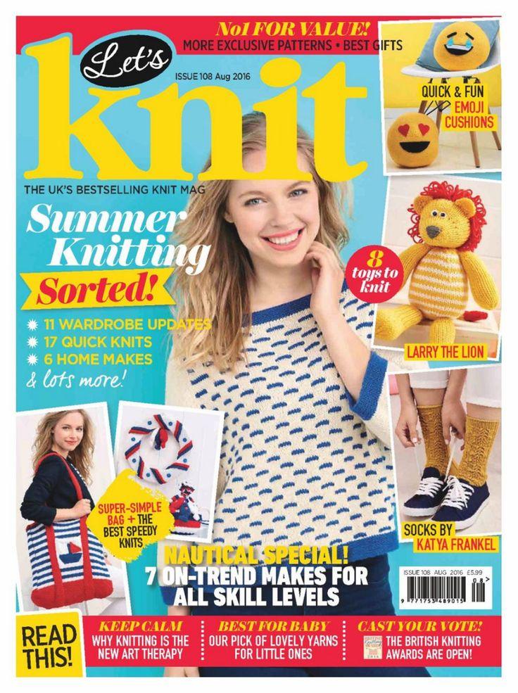 Let's Knit №108 2016 - 轻描淡写 - 轻描淡写