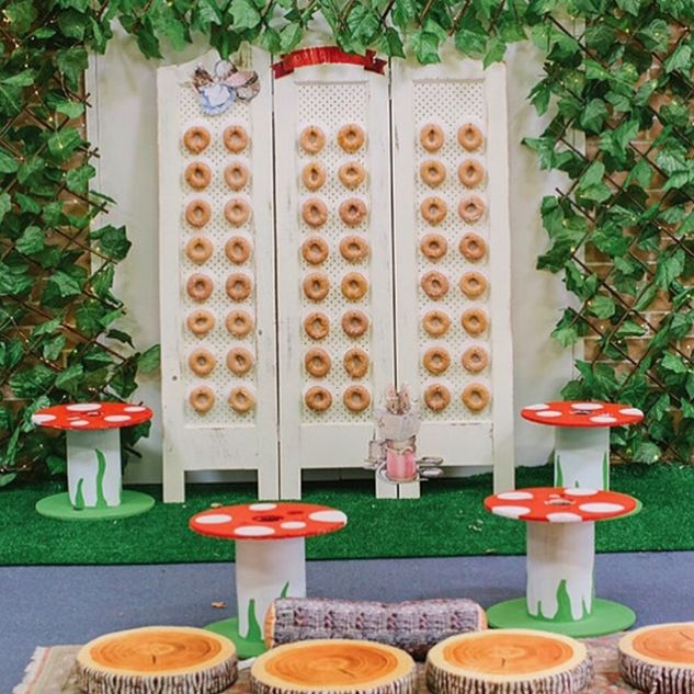 "76 Likes, 5 Comments - Donut Walls for Hire & Custom (@donut_wall_hire) on Instagram: ""Welcome to Sacha's Enchanted Mouseland  . . Fantastic styling by @jo_kalivas_events_styling…"""