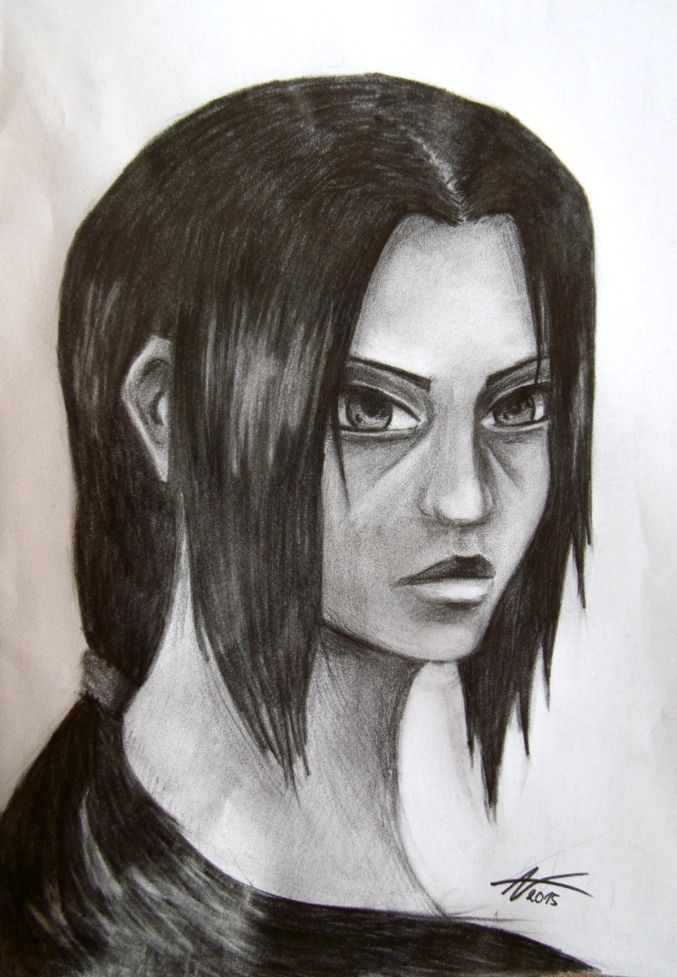 Itachi Uchiha (drawed by me)
