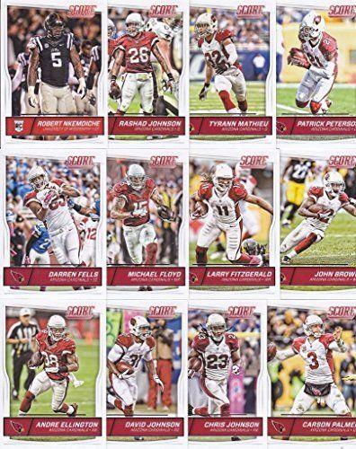 Arizona Cardinals - 2016 Score Football 12 Card Team Set w/ Rookies (PLUS 1 Special Insert Card)