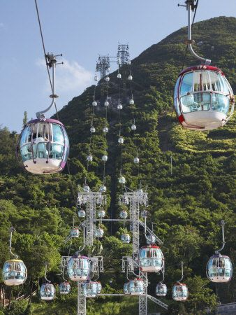 Cable Car, Ocean Park, Hong Kong- The City That Lights Up After Dark