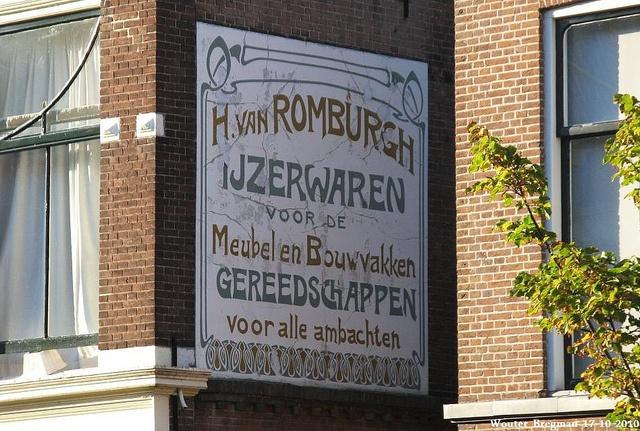 H. van Romburgh IJzerwaren by XBXG, via Flickr