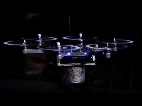 Flying Robot Rockstars - Unbelivable use of Drones to create music. Check it out! #drones #hdvideo #marketing #dronemusic #realestate #amazing