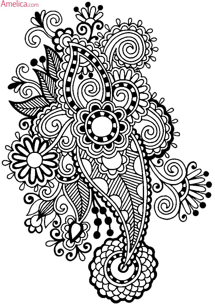 Раскраски антистресс распечатать бесплатно / Anti Stress Coloring Pages