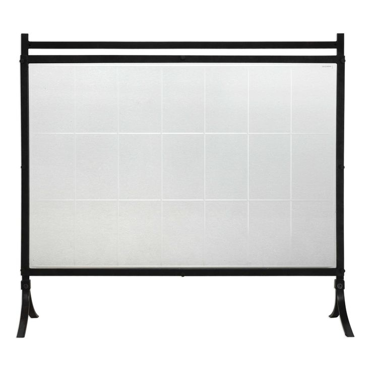 Christopher Black Iron Fireplace Screen ON BACKORDER UNTIL JULY 2017 from The Well Appointed House