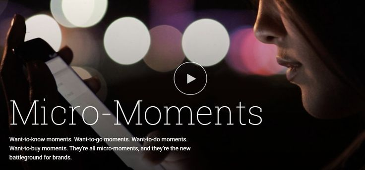 Google has suggested with that Micro Moments are the next step forward for brands looking to nurture leads. Here's 3 tips to help you be part of the moment.