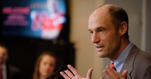 LINCOLN, Neb. — If he was supposed to be engaged in a war of words with Brian Ferentz, it was news to Nebraska football coach Mike Riley. Ferentz, Iowa's n