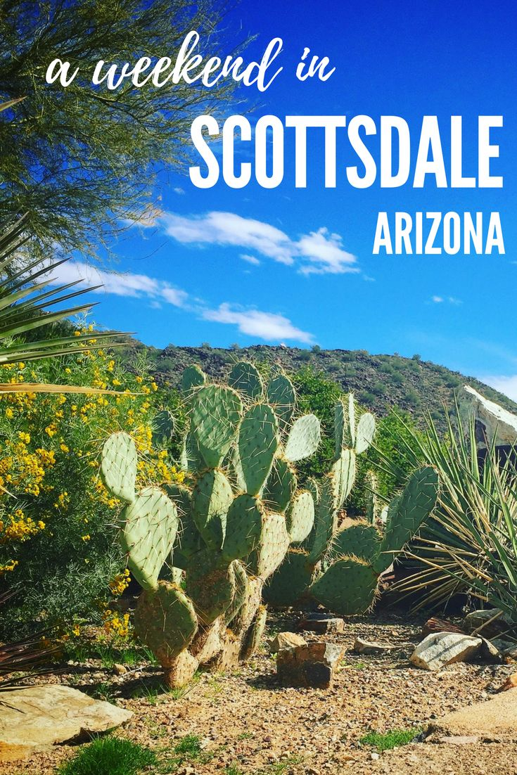 Scottsdale, AZ (USA) is a great town for a weekend getaway. There are plenty of activities from hiking and biking to restaurants and art galleries.