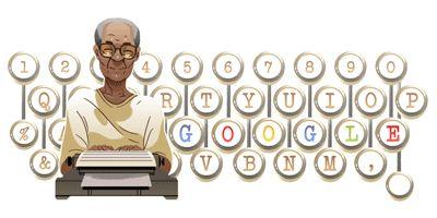 Pramoedya Ananta Toer's 92nd Birthday ~ Google tribute 6 February 2017
