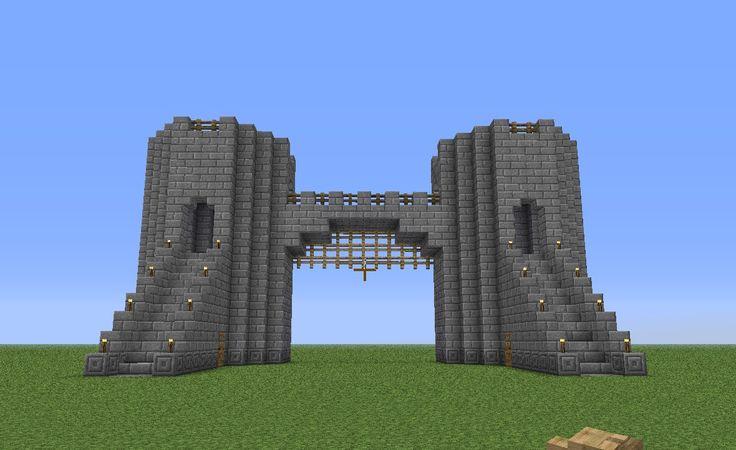 minecraft castle walls - Google Search