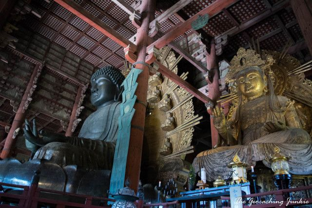 Giant bronze Buddha at Todaiji Temple - The Magic of the Ancient City of Nara