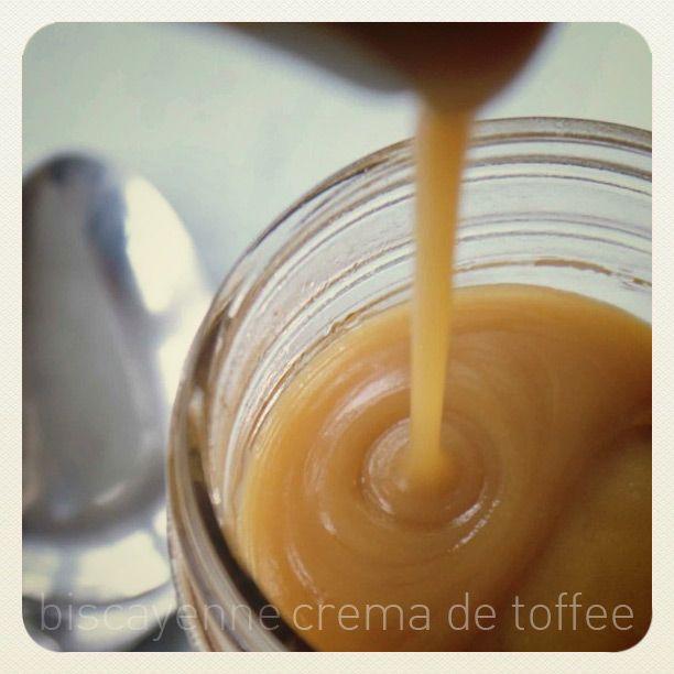 Crema de toffee para rellenar, decorar y sonreír